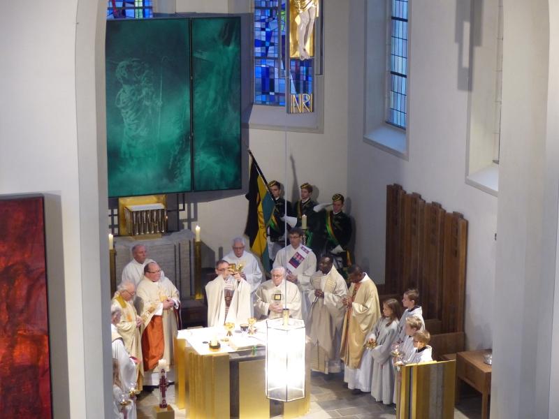 Gothia bei der Pfarreinführung von Bbr. Dr. Christian Lutz