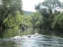 Kanu-Fahrt auf der Fränkischen Saale