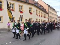 Eucharistische Prozession durch die Universitätsstadt Würzburg