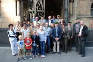 Reihnisch-Westfaelischer-Gothenzirkel besucht Synagoge